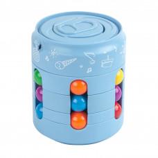 Головоломка антистресс Fidget Cans Cube Голубой