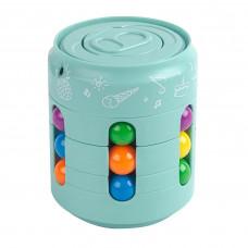 Головоломка антистресс Fidget Cans Cube Бирюзовый