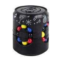 Головоломка антистресс Fidget Cans Cube 2.0 Черный