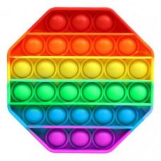 Сенсорная игрушка Pop It Fidget с шариками Восьмиугольник