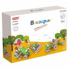 Конструктор Build&Play 3 в 1 Сельхозтехника 147 эл. (J-7744)