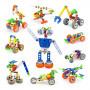 Конструктор Build&Play 10 в 1 Mega Pack 167 эл. (J-7748)