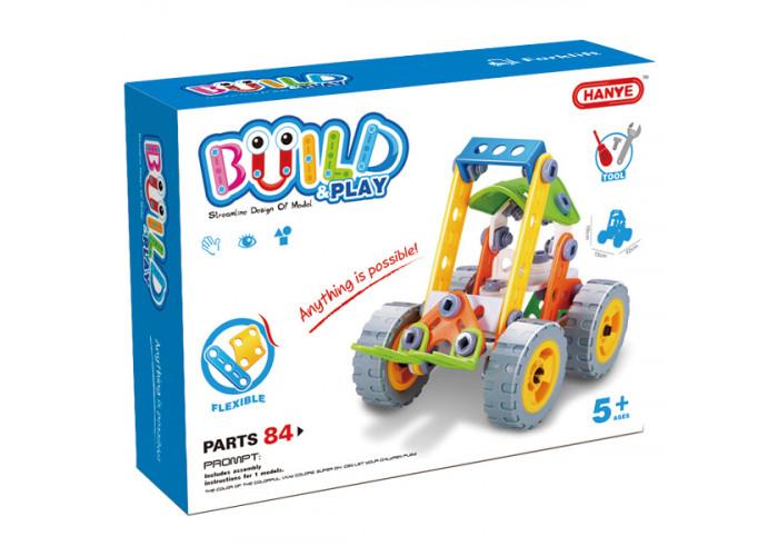 Конструктор Build&Play Погрузчик 84 эл. (J-7703)