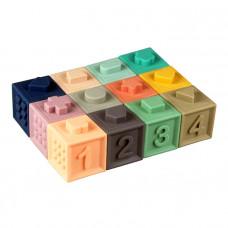 Силиконовые кубики Tumama 12 шт
