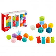Набор текстурных игрушек Huanger 20 шт