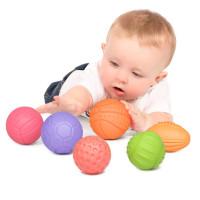 Набор детских текстурных мячей Tumama 6 шт