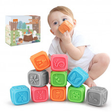 Сенсорные кубики Tumama 10 шт