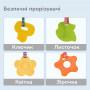 Подвесные плюшевые игрушки для малышей Tumama набор 4 шт