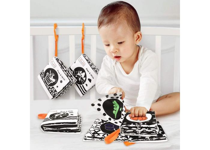 Мягкие книжки для новорожденных Tumama набор 4 шт