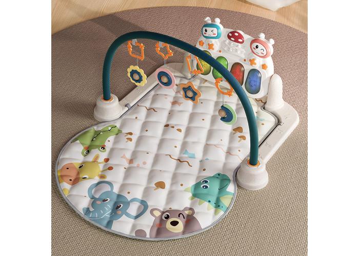Развивающий коврик с пианино Tumama Животные