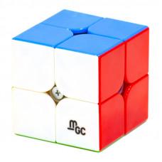 Кубик 2х2 YJ MoYu MGC Magnetic Цветной