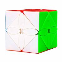 Meilong Maple Leaves skewb