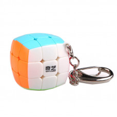 Кубик Рубика 3х3 Брелок QiYi MoFangGe