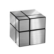 Зеркальный кубик Рубика 2x2 Серебро