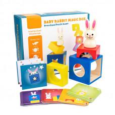 Настольная игра Кролик Бу (Застенчивый кролик)