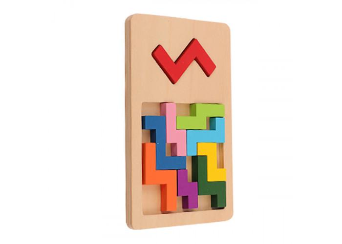 Деревянная игра-головоломка IQ FIT Зигзаг