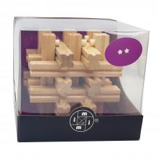 Деревянная головоломка Решетка Х