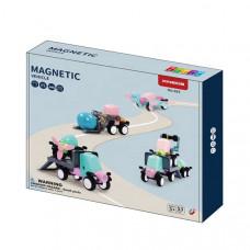 Магнитный конструктор Magnetic Sticks Машинки 53 эл.