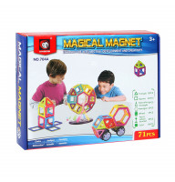 Магнитный конструктор Magical Magnet 71 эл.