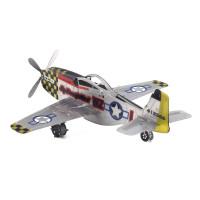 3Д пазл истребитель P-51 Mustang