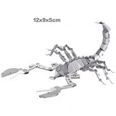 3Д пазл из металла Скорпион