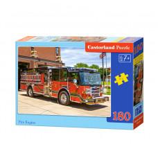 Пазл Castorland Пожарная машина 180 эл.