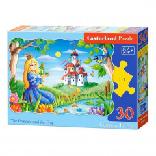 Пазл Castorland Принцесса и лягушка 30 эл.