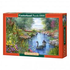 Пазл Castorland Черные лебеди 1500 эл.