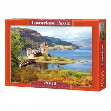 Пазл Castorland Замок Эйлен Донан 2000 эл.