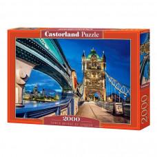 Пазл Castorland Тауэрский мост в Лондоне 2000 эл.