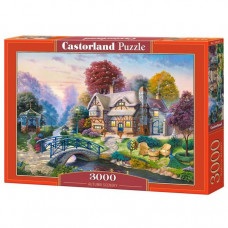 Пазл Castorland Осенний пейзаж 3000 эл.