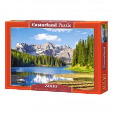 Пазл Castorland Озеро Мизурина, Италия 3000 эл.