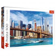Пазл Trefl Вид на Нью-Йорк 500 эл.