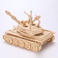 3D пазл военный танк
